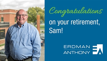 Sam Anthony, P.E., F.ASCE, Retires After 42-year Career