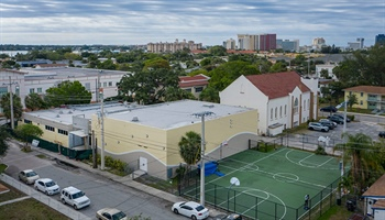 Renovation of Community Center in West Palm Beach Nearly Complete